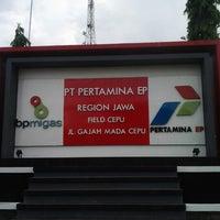 Photo taken at PT Pertamina EP Field Cepu by Dania Trya F. on 12/29/2012