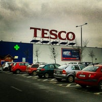 Photo taken at TESCO Hipermarket by D. Ádám on 11/27/2012