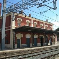 Photo taken at RENFE Sant Vicenç de Castellet by Terrassa1976 .. on 10/14/2013
