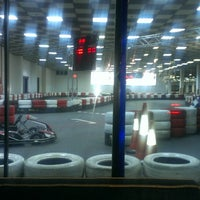 Photo taken at Baku Karting & Event Center by Orkhan O. on 6/10/2013