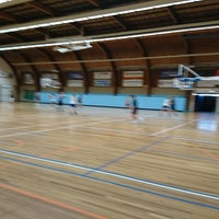 Photo taken at Sporthal Cleijn Duin by Jean-Paul S. on 6/1/2017