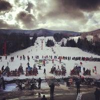 Photo taken at Hunter Mountain Ski Resort by Rachel B. on 2/3/2013