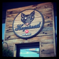 Photo taken at Hogshead Brewery by Ashley D. on 10/27/2013
