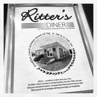 Photo taken at Ritter's Diner by Britton W. on 5/12/2013
