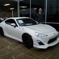 Photo taken at Wilsonville Toyota-Scion by Jenna P. on 2/9/2013