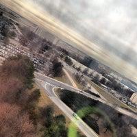 Photo taken at Hilton Atlanta Airport by Brian on 2/4/2013