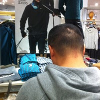 Photo taken at H&M by Jake R. on 12/31/2012