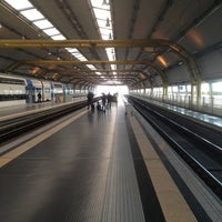 Photo taken at Fiumicino Airport Railway Station (ZRR) by Xavier O. on 2/28/2013