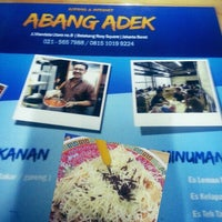 Photo taken at Indomie Abang Adek by Rina A. on 3/13/2013