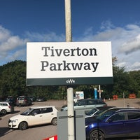 Photo taken at Tiverton Parkway Railway Station (TVP) by Ross M. on 9/22/2017