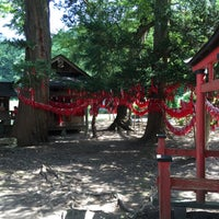 Photo taken at 卯子酉様 by H F. on 8/13/2016
