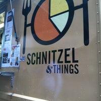 Photo taken at Schnitzel & Things by Brendan H. on 5/9/2013