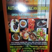 Photo taken at Afrika Fusion by Ash M. on 12/22/2012
