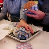 Photo taken at Hesburger HeseStoppi by Александра П. on 1/2/2013