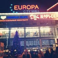 Снимок сделан в ТРК «Европа Сити Молл» пользователем Lusya S. 1/2/2013