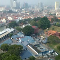 Photo taken at Menara Taming Sari , Melaka by Eiza A. on 10/9/2014