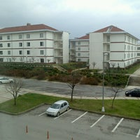 Photo taken at Sabancı Üniversitesi - Yurtlar by Melih D. on 3/23/2013