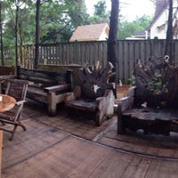 Photo taken at The Shack Coffee Shop & Beer Garden by Brian L. on 7/10/2014