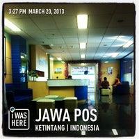 Photo taken at Jawa Pos by Beem B. on 3/20/2013