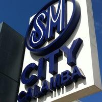 Photo taken at SM City Calamba by Daniel D. on 12/22/2012