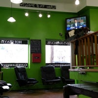 Photo taken at Razors Barbershop & Shave by Mike G. on 7/18/2013