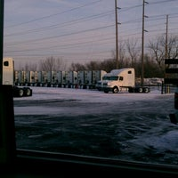Photo taken at Celadon Trucking Body Shop by Antione L. on 1/26/2013