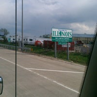 Photo taken at Wisconsin/Illinois State Line by Antione L. on 5/11/2013