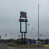 Photo taken at TravelCenters of America by Antione L. on 3/1/2015