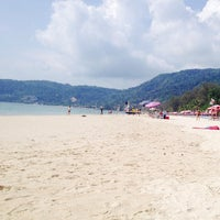 Photo taken at Gay Beach Patong by Дарья С. on 4/19/2014