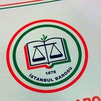Photo taken at İstanbul Barosu by Alper K. on 11/30/2012