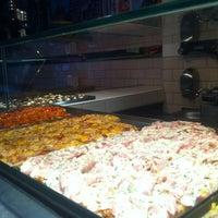 Photo taken at Pizza Al Cuadrado by Lara S. on 4/7/2013