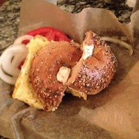 Photo taken at Spread Bagelry by Stringbean L. on 12/2/2012