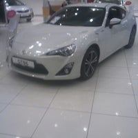 Photo taken at Toyota Plaza Toyan by Sercan A. on 12/17/2012
