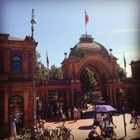 Photo taken at Tivoli Hovedindgangen by norma_foster on 7/27/2013