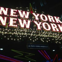 Photo taken at New York-New York Hotel & Casino by Kathy T. on 2/11/2013