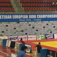 Photo taken at Sportska dvorana Žatika by Mustafa B. on 6/23/2016