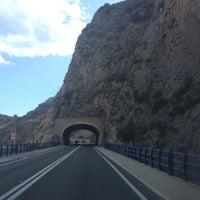 Photo taken at Tuneles Del Mascarat by Devochkasevera on 7/20/2014