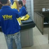 Photo taken at Supermercado Vitor by Diego S. on 6/4/2016