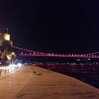 Photo taken at Rumelihisarı Sahili by onur on 7/15/2013