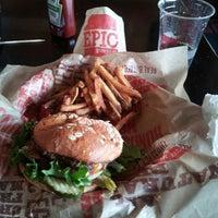 Photo taken at Epic Burger by Peter H. on 7/4/2013