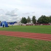 Снимок сделан в Стадион «Торпедо» пользователем Den K. 8/30/2013