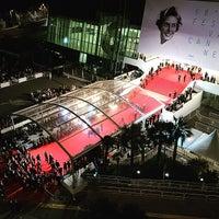 Photo taken at Palais des Festivals et des Congrès by Olivier B. on 5/14/2015