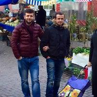 Photo taken at Yenidoğan Semt Pazarı by Samet Ş. on 2/8/2016