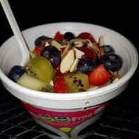 Photo taken at Sweet Frog Premium Frozen Yogurt by Jennifer F. on 5/13/2017