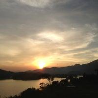 Photo taken at Segot Banasura Resorts & Villas by viKas r. on 12/22/2012