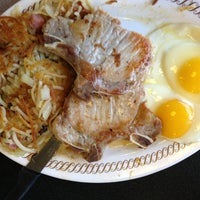 Photo taken at Waffle House by Jason B. on 2/22/2013