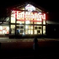 Photo taken at Hannaford Supermarket by Charlie R. on 12/16/2012