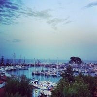 Photo taken at Kemer Türkiz Marina by Samet E. on 8/24/2013