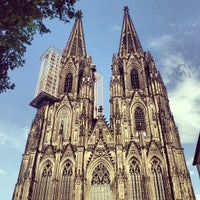 Photo taken at Cologne Cathedral by Владислав I. on 6/17/2013