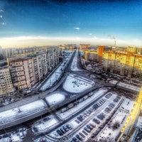 Снимок сделан в Пентхаус «Поднебесная» / Skyspace пользователем Владислав I. 2/15/2015